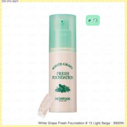 ( 13 Light Beige )White Grape Fresh Foundation