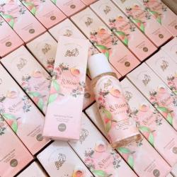 โทนเนอร์พีช PEACH & ROSE WATER TONER by Sherpeach
