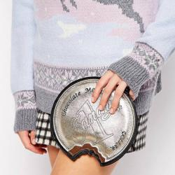 New Look Choc Coin Clutch