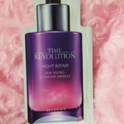 (พร้อมส่ง) Missha  Time revolution night repair 1.5ml